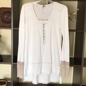 Gorgeous Free People henley